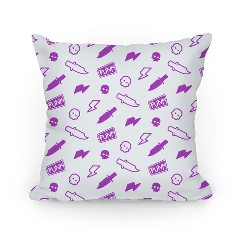 Purple Rebel Punk Pattern