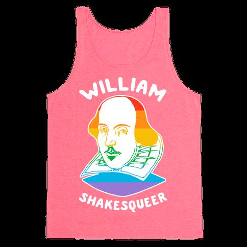 William ShakesQueer Tank Top