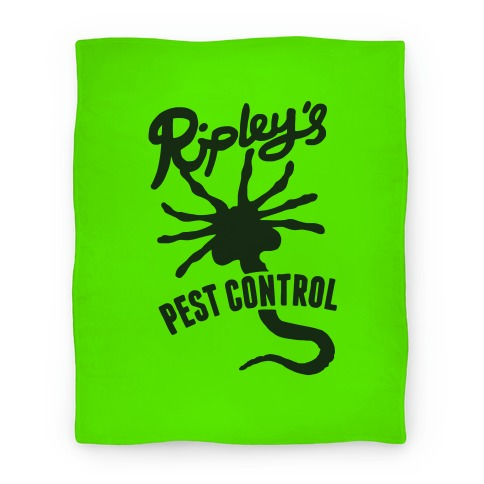 Ripley's Pest Control Blanket Blanket