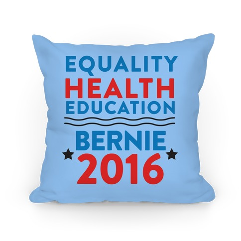 Bernie Sanders 2016 Pillow