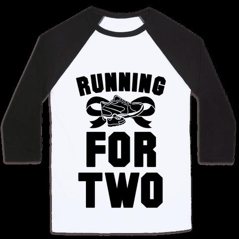 Running for Two Baseball Tee