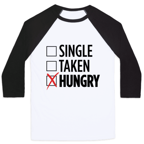 Status: Hungry Baseball Tee