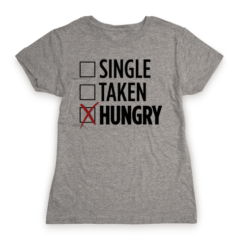 Status: Hungry Womens T-Shirt