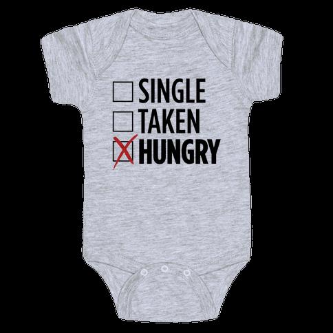 Status: Hungry Baby Onesy