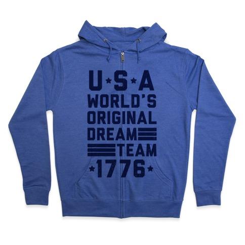 USA World's Original Dream Team 1776 Hoodie | LookHUMAN