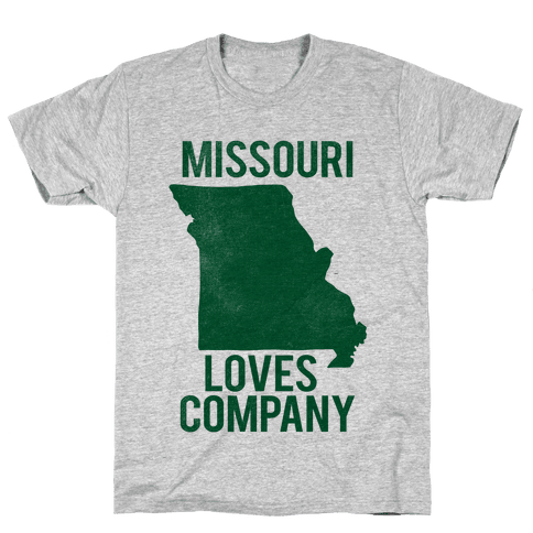 Missouri Loves Company Mens T-Shirt