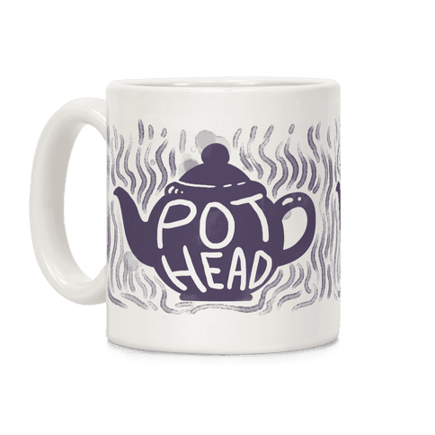 Pot Head (Tea) Coffee Mug