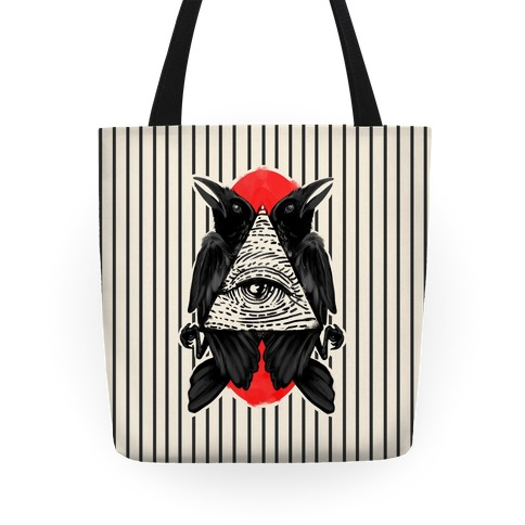 Crows Illuminati Tote