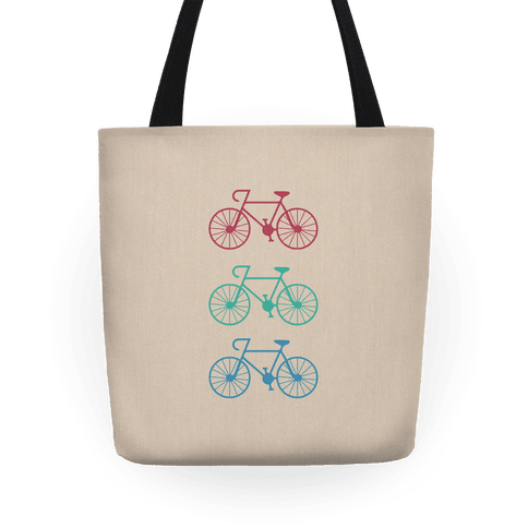 Three Bikes Tote