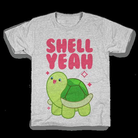 Shell Yeah Cute Turtle Kids T-Shirt