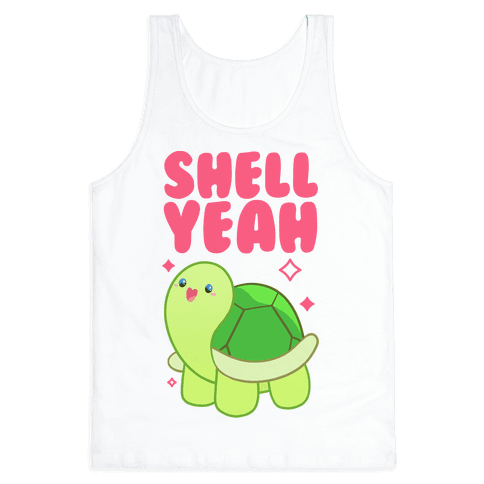 Shell Yeah Cute Turtle Tank Top