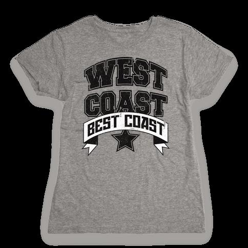 West Coast Best Coast (Tank) Womens T-Shirt