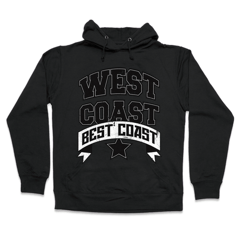 West Coast Best Coast (Tank) Hooded Sweatshirt