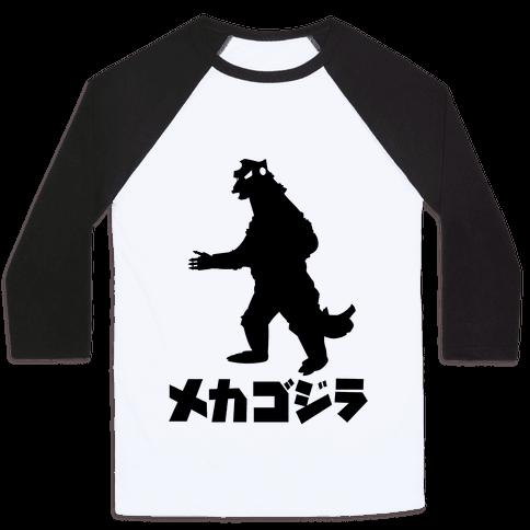 Mecha Godzilla Baseball Tee
