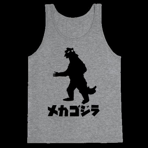 Mecha Godzilla Tank Top
