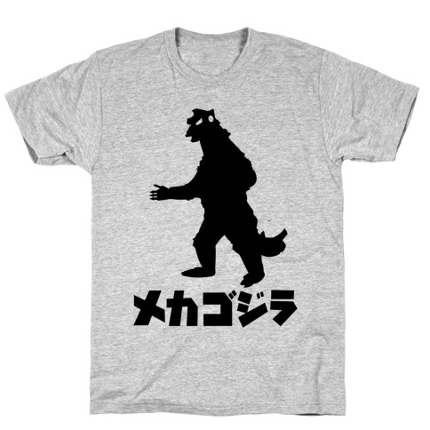 Mecha Godzilla Mens T-Shirt