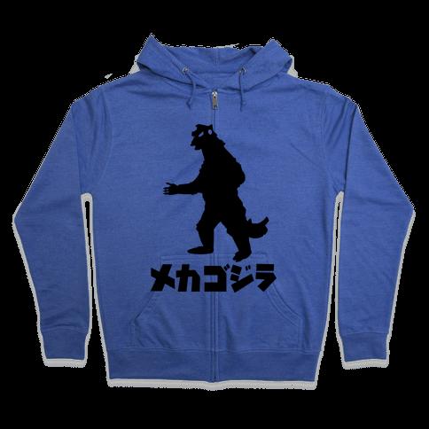 Mecha Godzilla Zip Hoodie