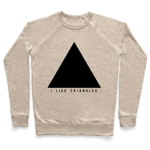 I Like Triangles Pullover