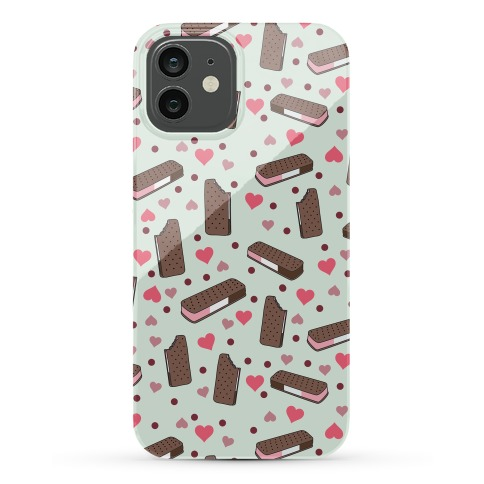 Neapolitan Ice Cream Sandwich Pattern Case Phone Case