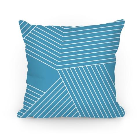 Crosshatch Pattern Pillow Pillow