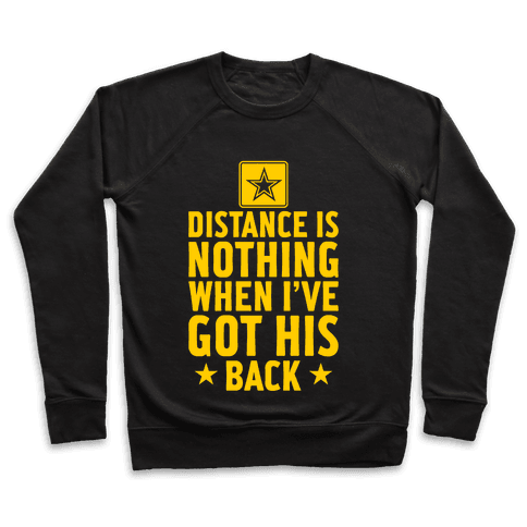 I've Got His Back (Army) Pullover