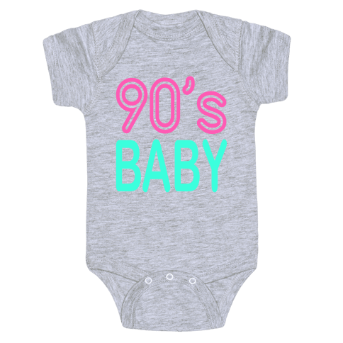 90's Baby Baby Onesy