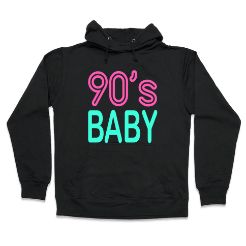 90's Baby Hooded Sweatshirt