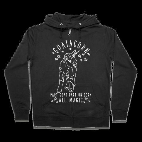 Goatacorn Zip Hoodie