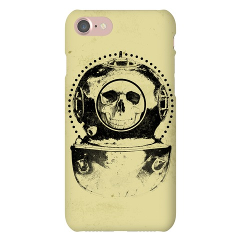 Skull Diver Phone Case