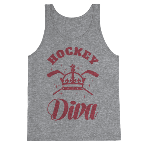 Hockey Diva Tank Top