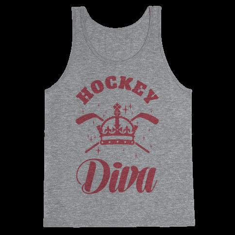 Hockey Diva Tank Top