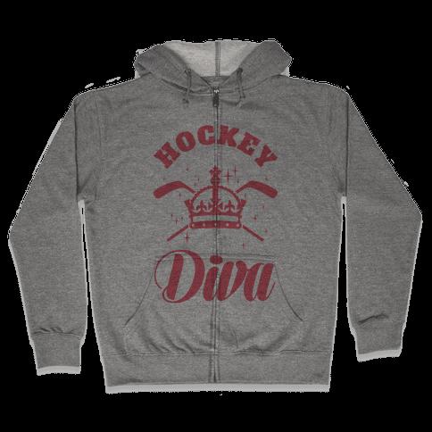 Hockey Diva Zip Hoodie