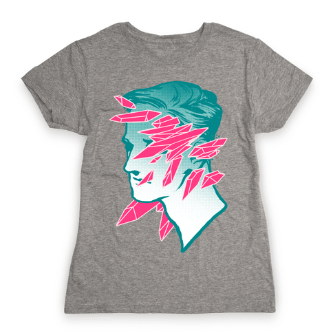 Crystal Faced Stranger Womens T-Shirt