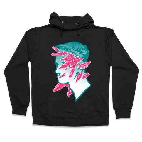 Crystal Faced Stranger Hooded Sweatshirt