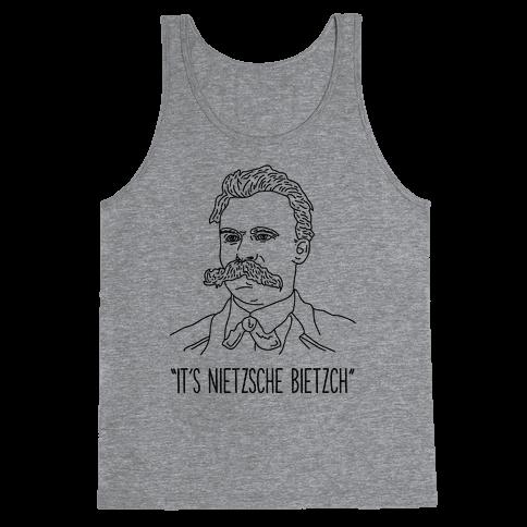 It's Nietzsche Bietzsche Tank Top