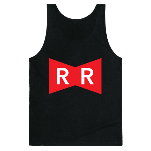 Red Ribbon Army Tank Top