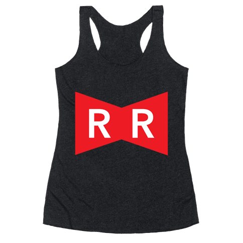 Red Ribbon Army Racerback Tank Top