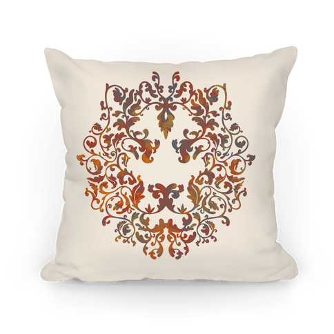 Floral Lion Pillow