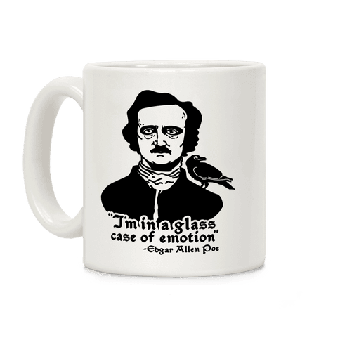 Poe in a Glass Case of Emotion Coffee Mug