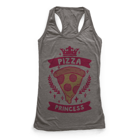 Pizza Princess Racerback Tank Top