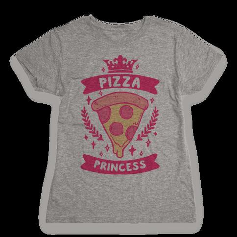 Pizza Princess Womens T-Shirt