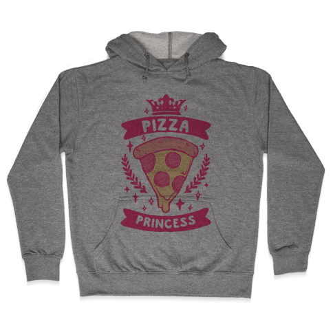 Pizza Princess Hooded Sweatshirt