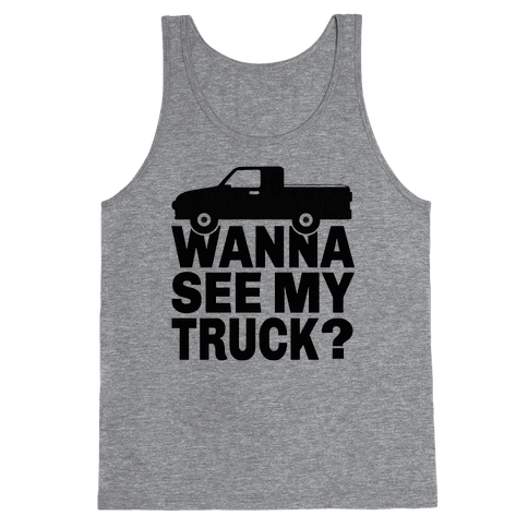 Truck Lookin Tank Top