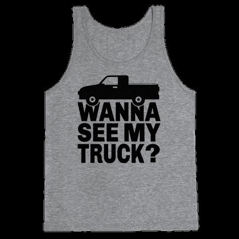 Truck Lookin Tank Top