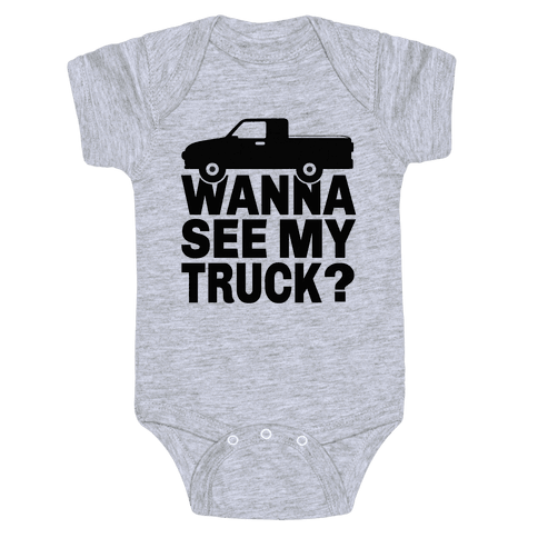 Truck Lookin Baby Onesy