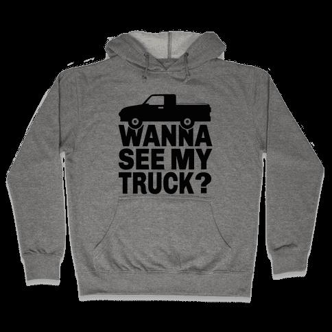 Truck Lookin Hooded Sweatshirt