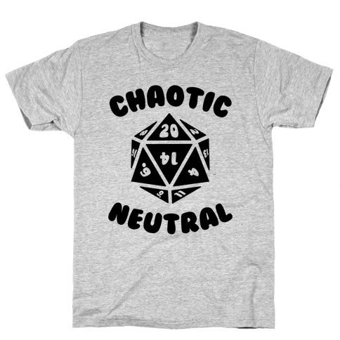 Chaotic Neutral Mens T-Shirt