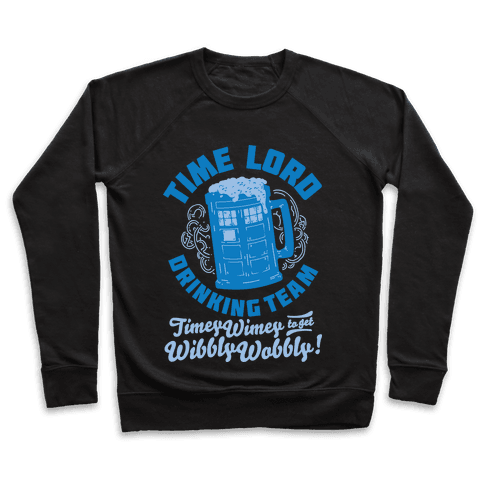 Time Lord Drinking Team Pullover