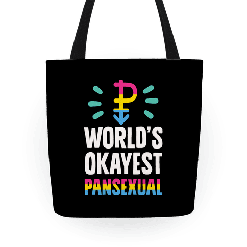 World's Okayest Pansexual Tote