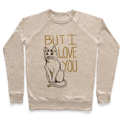 Eyebrows Cat- I love you! Pullover